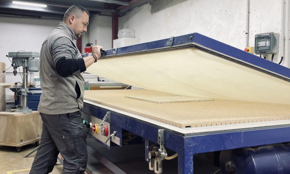 Atelier de menuiserie bois
