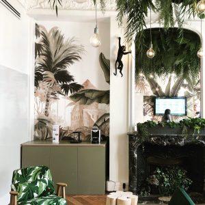 Déco jungle PWC EXPERIENCE CENTER