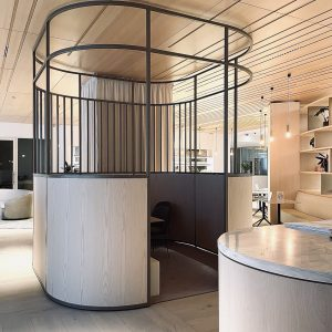 Restaurant mobilier design